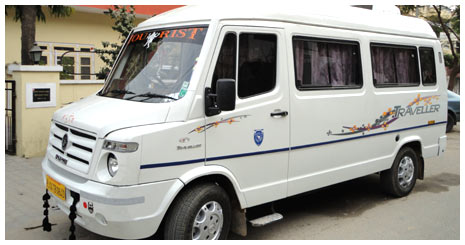 Tempo Traveller Cars Rental