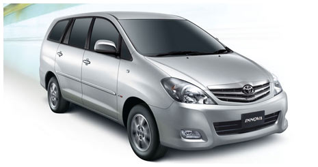Toyota Innova Cars Rental